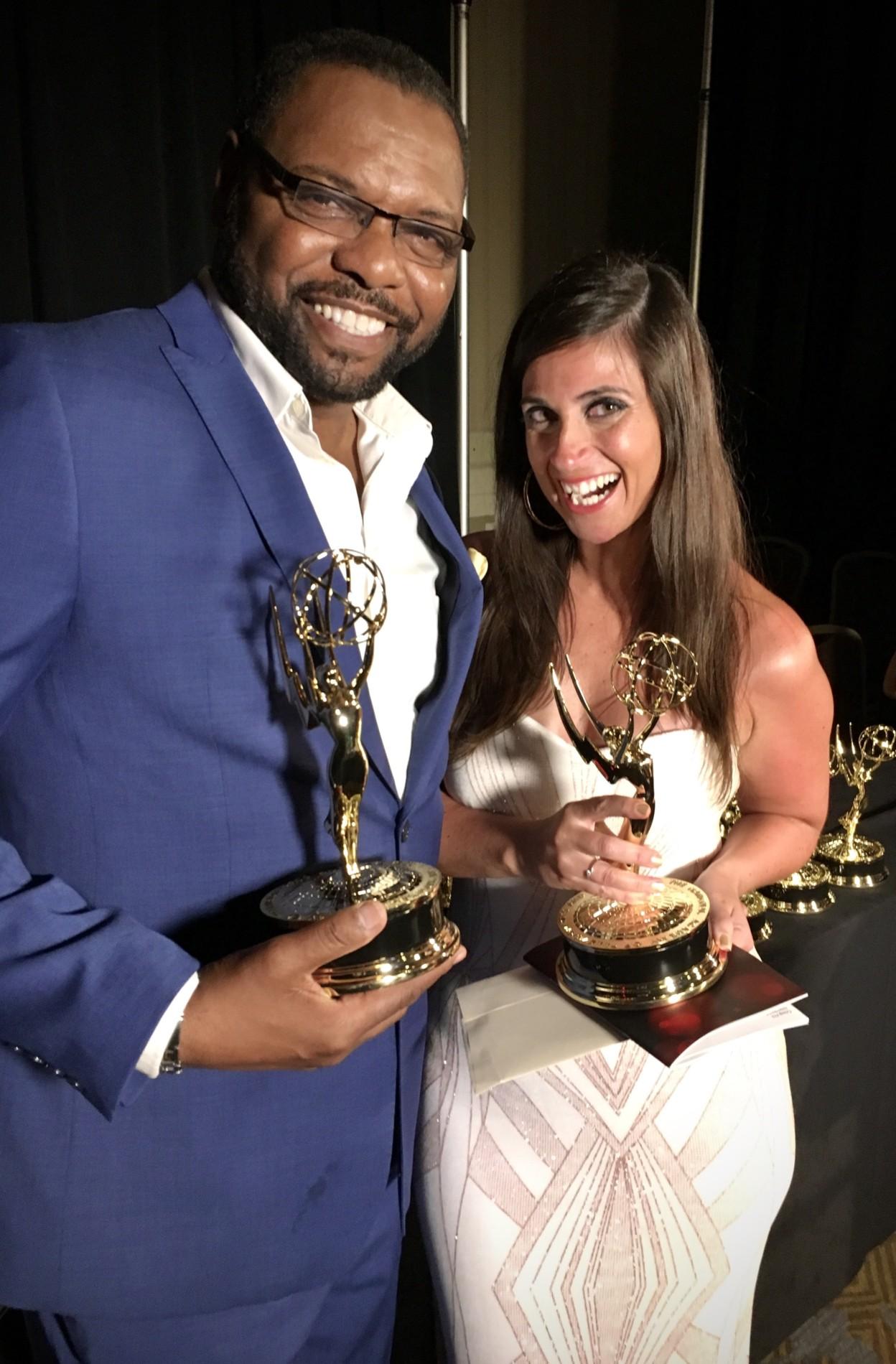 periodista hispana española ganadora de 7 Emmy líder global